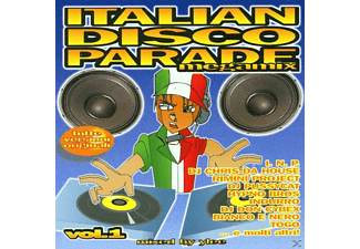 Various Dance Megamix - Italian Disco Parade Vol.1 - (CD)