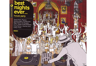 VARIOUS - Best Nights Ever-House Party - (CD)