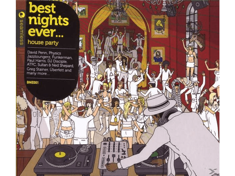 VARIOUS - Best Nights Ever-House Party [CD]
