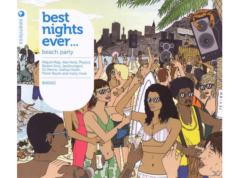 VARIOUS - Best Nights Ever-Beach Party [CD]