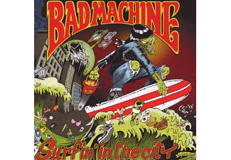 Bad Machine - Surfin' In The City - (CD)