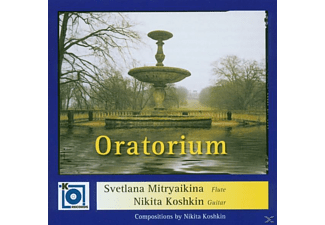 Svetlana Mitryaikina - Oratorium For Flute And Guitar - (CD)