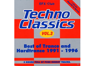 VARIOUS - Techno Classics 3 - (CD)