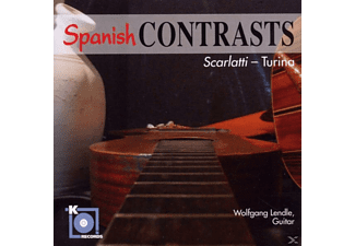 Wolfgang Lendle - Spanish Contrasts - (CD)