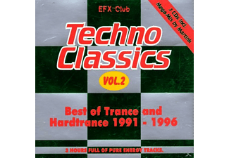 VARIOUS - Techno Classics 2 - (CD)