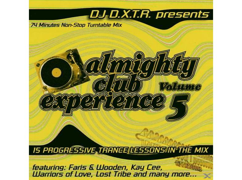 VARIOUS - Almighty Club Experience 5 [CD]