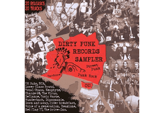 VARIOUS - Dirty Punk Records Sampler - (CD)