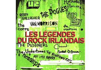 The/cranberries/thin Lizzy U2/pogues - Les Legendes du Rock Irlandais - (CD + DVD Video)