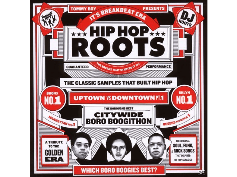 VARIOUS - Tommy Boy Presents-Hip Hop Roots [CD]