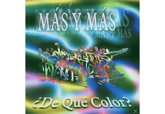 Mas Y Mas - De Que Color - (CD)