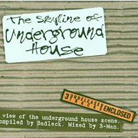 VARIOUS - Skyline Of Underground House [CD]