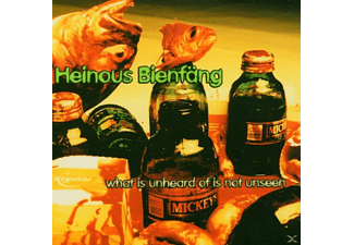 Heinous Beinfäng - What Is Unheard Of Is Not Unseen - (CD)