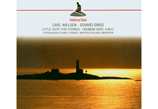 Copenhagen Young Strings - Little Suite For Strings-Holberg Suite (Grieg/Niel - (CD)