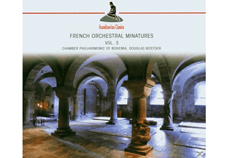Chamber Philharmonic Of Bohemia - French Orchestral Miniatures 3 (Various) [CD]