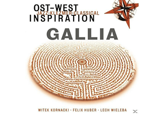 Ost-west Inspiration - Gallia - (CD)