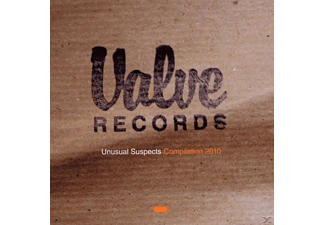 Various Blues Valve Records - Unusual Suspects Compilation 2010 - (CD)