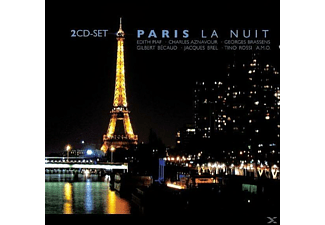 VARIOUS - Paris La Nuit - (CD)