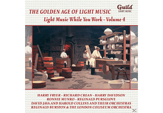 VARIOUS - Light Music While You Work, Vol.4 - (CD)
