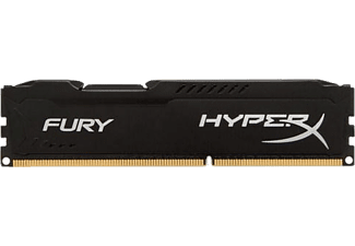 KINGSTON HyperX Fury 4GB 1600MHz DDR3 CL10 Siyah (HX316C10FB/4)