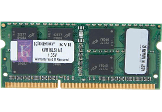 KINGSTON 8GB 1600MHz DDR3 Ram KVR16LS11/8 NB 1.35 V