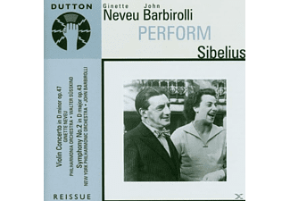 BARBIROLLI, J. / NEVEU, G. - PERFORM SIBELIUS - (CD)