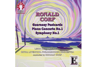 Corp, Leon Mccawley, Royal Liverpool Phil.Orch. - Corp: Piano Concerto No.1, Guernsey Postcards, Symphony No.1 - (CD)