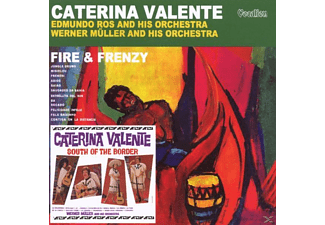 Caterina Valente - Fire And Frenzy & South Of The Bord - (CD)