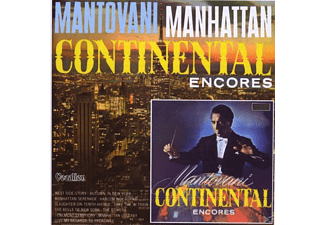 His Orchestra - CONTINENTAL ENCORES & MANHATTAN - (CD)