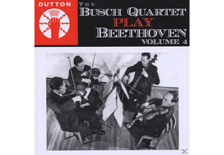 The Busch Quartet - Busch Quartet Play Beethoven Vol.4 - (CD)