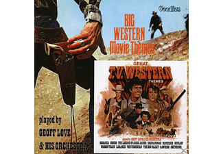 Geoff And Orchestra Love, Geoff Love & His Orchestra - Big Western Movie & TV Themes - (CD)