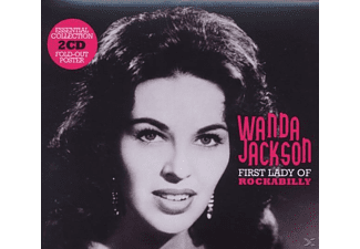 Wanda Jackson - First Lady Of Rockabilly-Essential Collection - (CD)