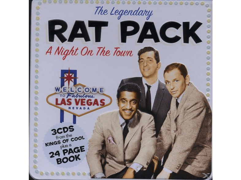 The Legendary Rat Pack - A Night On The Town Tin [CD]