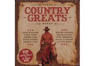 VARIOUS - Country Greats (Lim.Metalbox Ed.) - (CD)