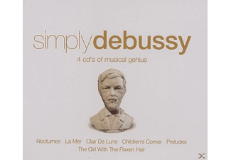 VARIOUS - Simply Debussy - (CD)