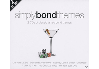 VARIOUS - Simply Bond Themes (2cd) - (CD)