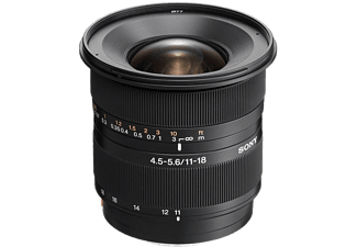 SONY Objectif grand angle DT 11-18mm F4.5-5.6 (SAL1118.AE)