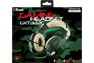 TRUST GXT 322C Gaming-Headset Grün/Camouflage