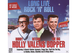 Buddy Holly, Ritchie Valens, Holly,B/Valens,R/Big Bopper, Big Bopper - Long Live Rock'n Roll-My Kind Of Music - (CD)