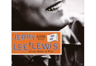 Jerry Lee Lewis - Great Balls of Fire - (CD)