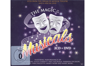 VARIOUS - Magic Of The Musicals - (CD + DVD Video)