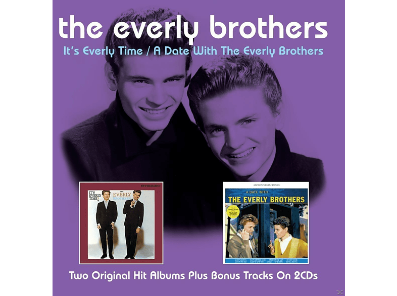 The Everly Brothers - It's Everly Time/A Date With The Everly Brothers [CD]