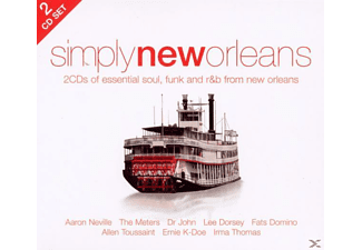 VARIOUS - Simply New Orleans (2cd) - (CD)
