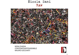 Mauro Ceccanti, Contempoartensemble, Moni Ovadia - Raw/Achab/Verso Un Altro Occidente/+ - (CD)