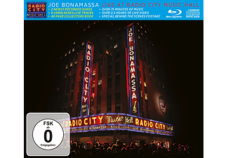 Joe Bonamassa - Live At Radio City Music Hall 2015 (CD + Blu-ray)