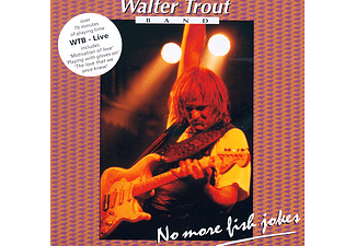 Walter Trout Band - Live - No More Fish Jokes (CD)
