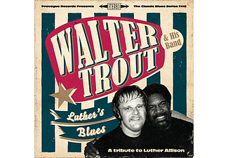 Walter Trout - Luther's Blues - A Tribute To Luther Allison (Vinyl LP (nagylemez))