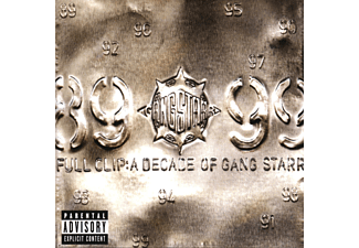Gang Starr - Full Clip: A Decade Of Gang Starr CD