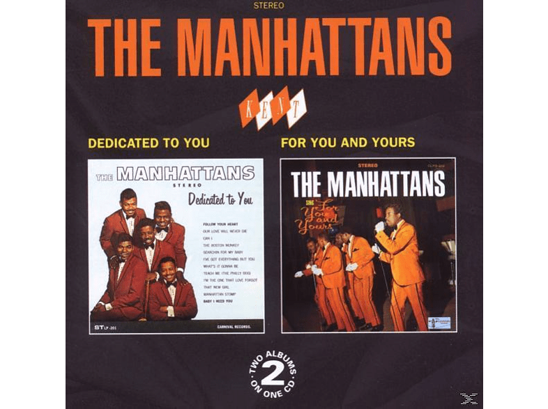 The Manhattans - DEDICATED TO YOU/FOR YOU AND YOURS [CD]