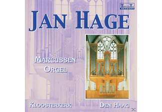 Jan Hage - Marcussen Orgel Den Haag - (CD)