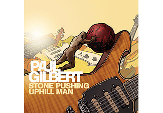 Paul Gilbert - Stone Pushing Uphill Man (CD)